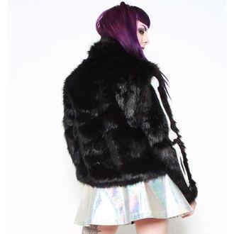 hoodie women's - Bone In Fur - IRON FIST - IFW005066_Black