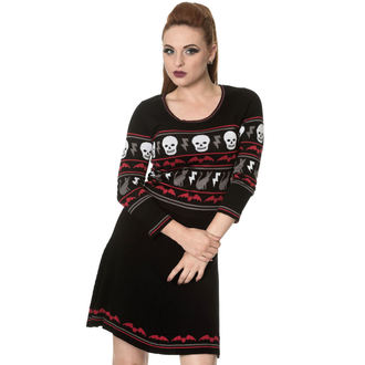 dress women with long sleeve BANNED - DR5190R/BLK