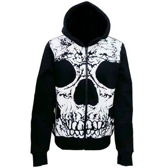 hoodie men's - To The Wire - BANNED - HBN055R/BLK/WHT
