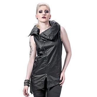 vest women's - Collar and Assymetric - QUEEN OF DARKNESS, QUEEN OF DARKNESS