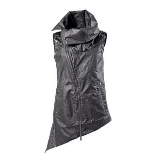 vest women's QUEEN OF DARKNESS - Collar and Assymetric - VE1-003/13