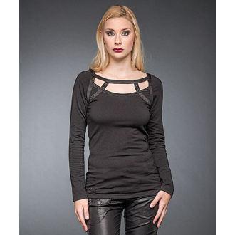 t-shirt women with long sleeve QUEEN OF DARKNESS, QUEEN OF DARKNESS