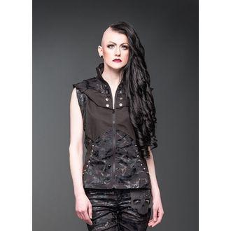 vest women's - Black - QUEEN OF DARKNESS, QUEEN OF DARKNESS