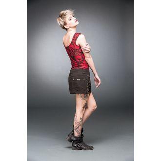 skirt women's QUEEN OF DARKNESS - Black - SK11-308/14