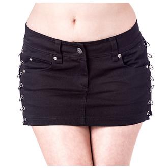 skirt women's QUEEN OF DARKNESS - Black, QUEEN OF DARKNESS