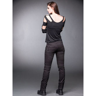 pants women (winter) QUEEN OF DARKNESS - Black - TR1-245/12