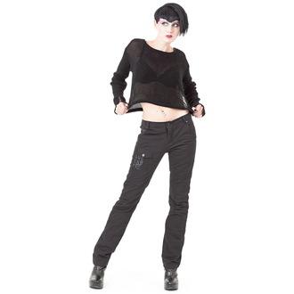 pants women (winter) QUEEN OF DARKNESS - Black - TR1-245/12