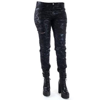pants women QUEEN OF DARKNESS - Cracks, QUEEN OF DARKNESS