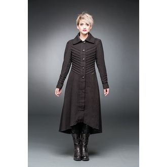 coat women's QUEEN OF DARKNESS - Decorative Stitching, QUEEN OF DARKNESS