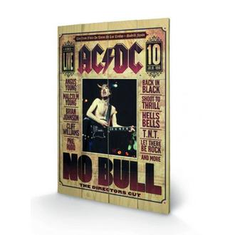 wooden image AC / DC - No Bull, PYRAMID POSTERS, AC-DC