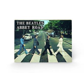 wooden image The Beatles - Abbey Road, PYRAMID POSTERS, Beatles
