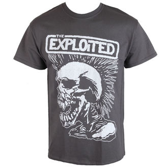t-shirt metal men's Exploited - VINTAGE SKULL - RAZAMATAZ - ST2086