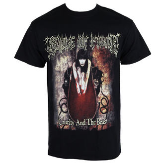 t-shirt metal men's Cradle of Filth - CRUELTY ANO THE BEAST - RAZAMATAZ, RAZAMATAZ, Cradle of Filth