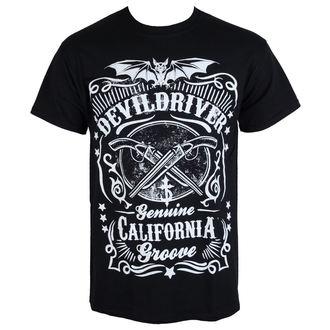 t-shirt metal men's Devildriver - CALIFORNIA GROOVE - RAZAMATAZ - ST2083