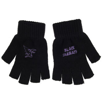 Gloves Black Sabbath - PURPLE LOGO & DEVIL - RAZAMATAZ, RAZAMATAZ, Black Sabbath