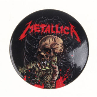 badge Metallica - Alien Birth, PYRAMID POSTERS, Metallica