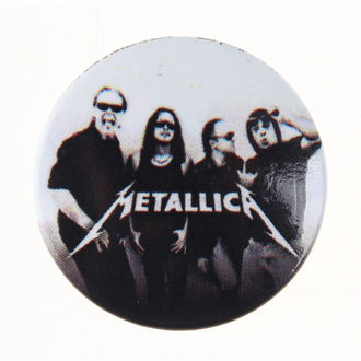 badge Metallica - Group, PYRAMID POSTERS, Metallica