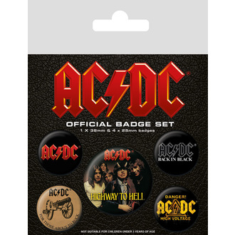 Badges AC / DC (Logo) - BP80494