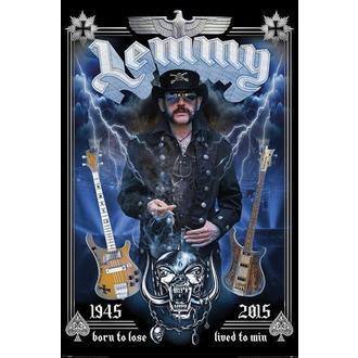 Poster Motorhead - Lemmy - Commemorative, PYRAMID POSTERS, Motörhead