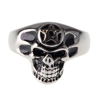 ring ETNOX - Pentagram Skull, ETNOX