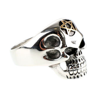 ring ETNOX - Big Pentagram Skull, ETNOX