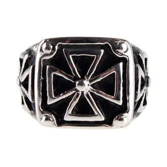 ring ETNOX - Black Iron Cross, ETNOX