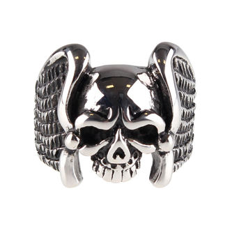 ring ETNOX - Winged Skull, ETNOX