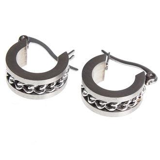 earring ETNOX - Mesh Steel, ETNOX