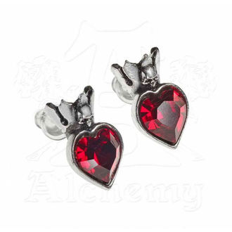 earring ALCHEMY GOTHIC - Claddagh Heart, ALCHEMY GOTHIC