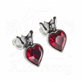 earring ALCHEMY GOTHIC - Claddagh Heart - E379