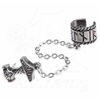 earring ALCHEMY GOTHIC - Thor Donner Earcuff - E381