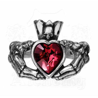 Ring ALCHEMY GOTHIC - Claddagh By Night, ALCHEMY GOTHIC