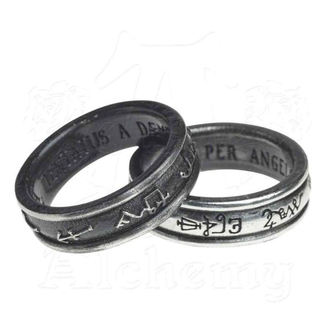 Ring ALCHEMY GOTHIC - Demon Black & Angel White, ALCHEMY GOTHIC