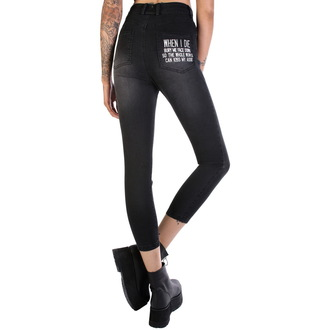 pants women DISTURBIA - Kiss My Ass, DISTURBIA