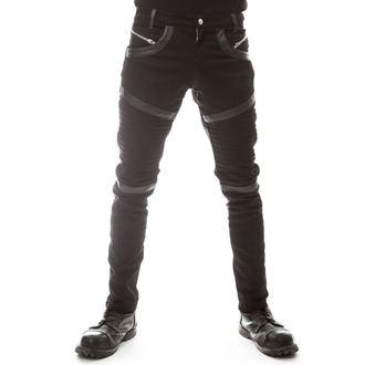 Pants men's VIXXSIN - GRAVITY - BLACK, VIXXSIN