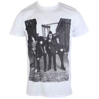 t-shirt metal men's Kiss - B&W CITY - LIVE NATION, LIVE NATION, Kiss
