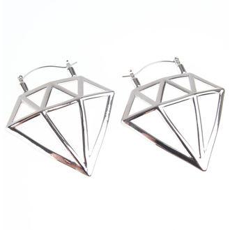Earrings INOX - 20G DIAMOND, INOX