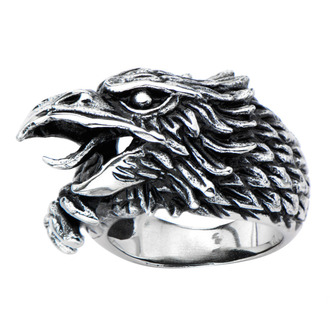 ring INOX - BLK SIDE EAGLE, INOX