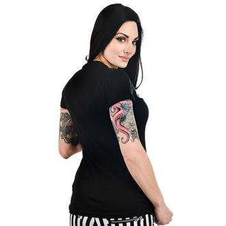 t-shirt gothic and punk women's - BABYDOLL - TOO FAST, TOO FAST