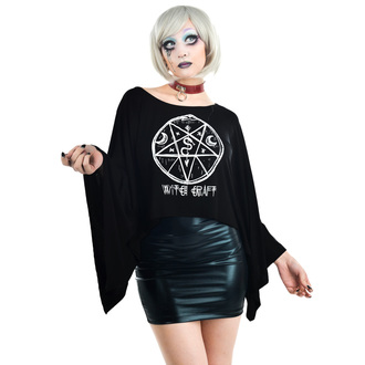 t-shirt gothic and punk women's - COVEN CAPE - TOO FAST, TOO FAST