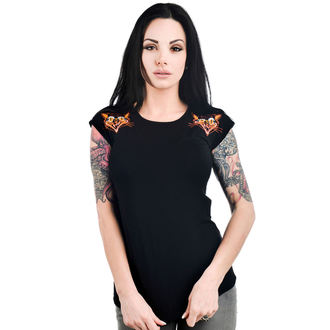 t-shirt gothic and punk women's - DAME - TOO FAST, TOO FAST