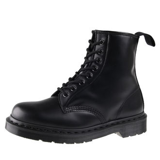 leather boots unisex - DM 1460 MONO BLACK SMOOTH - Dr. Martens, Dr. Martens