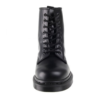 leather boots women's unisex - DM 1460 MONO BLACK SMOOTH - Dr. Martens, Dr. Martens