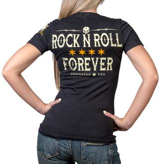 t-shirt hardcore women's - Rock N Roll Forever - WORNSTAR, WORNSTAR