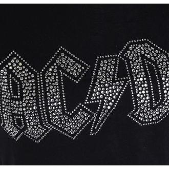 t-shirt metal women's AC-DC - Logo - ROCK OFF, ROCK OFF, AC-DC
