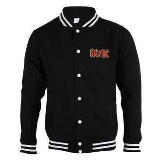 sweatshirt (no hood) men's AC-DC - Classic Logo - ROCK OFF, ROCK OFF, AC-DC