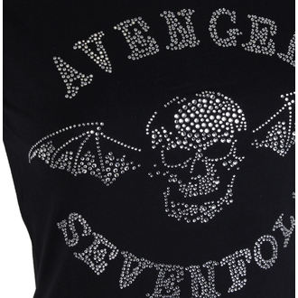 t-shirt metal women's Avenged Sevenfold - Deathbat - ROCK OFF, ROCK OFF, Avenged Sevenfold