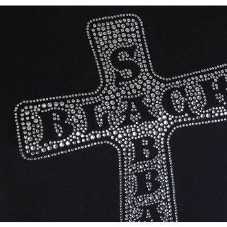 t-shirt metal women's Black Sabbath - Cross - ROCK OFF, ROCK OFF, Black Sabbath