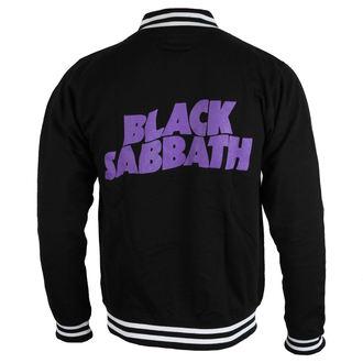 sweatshirt (no hood) men's Black Sabbath - Wavy Logo - ROCK OFF, ROCK OFF, Black Sabbath