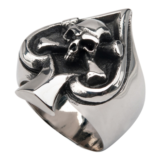 ring INOX - SKULL SPADE, INOX